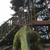 「恐竜博物館行ってきました!」カミキハラ(>Д<)ゝ