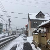 大雪だ!!