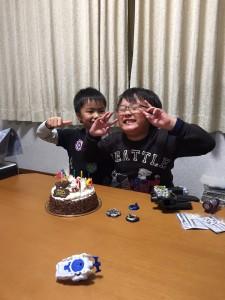 7才誕生日