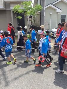 橋岡祭り2